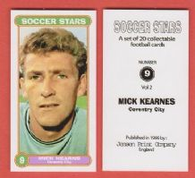 Coventry City Mick Kearns